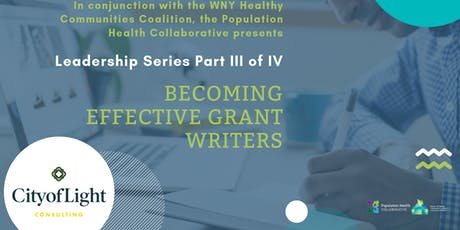 WNYHCC Leadership Series: Becoming Effective Grant Writers tickets