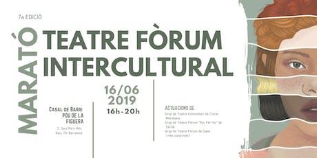 Maratón de Teatro Foro Intercultural (Gratuito) entradas