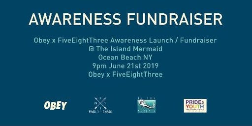 OBEY x FiveEightThree Awareness Fundraiser / Gay Rights Are Human Rights