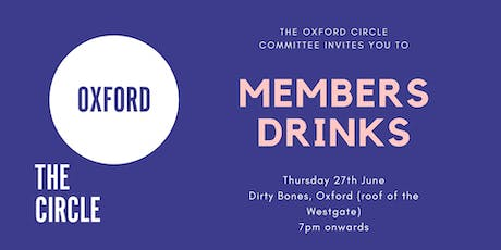 Members Drinks | The Oxford Circle tickets