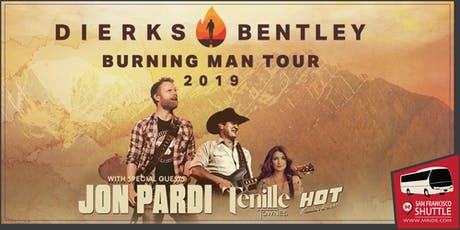 Dierks Bentley Party Bus to Shoreline Amphitheater tickets