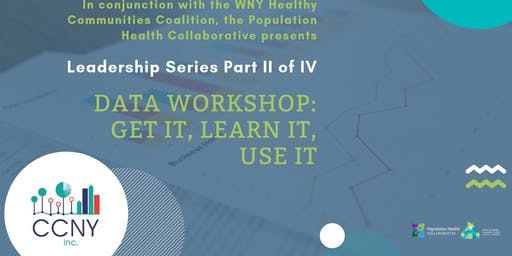 WNYHCC Leadership Series- Data Workshop: Get it, Learn it, Use it