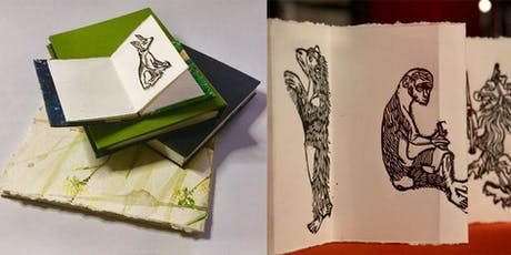 Printmaking with Bookbinding  - Inspired by the Edward Hart Collection tickets