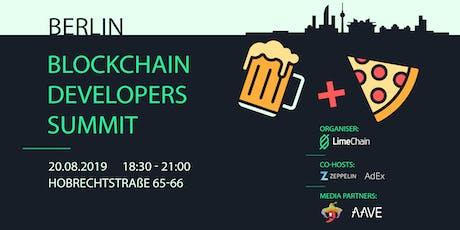 The Blockchain Developers Summit - ETHBerlin Edition tickets