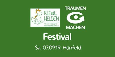 KLEINE HELDEN TRÄUMEN & MACHEN Festival Tickets
