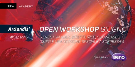 Open Workshop REA Academy (Roma + Online) biglietti