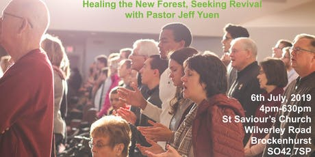 Healing the New Forest, Seeking Revival with Pastor Jeff Yuen tickets