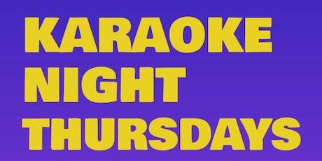 KARAOKE NIGHT at TGIFRIDAY'S - UNIVERSITY tickets