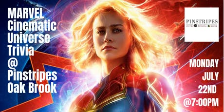 Marvel Cinematic Universe Trivia at Pinstripes Oak Brook  tickets