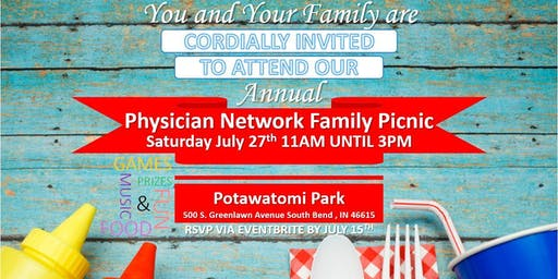 Saint Joseph Physician Network Family Picnic