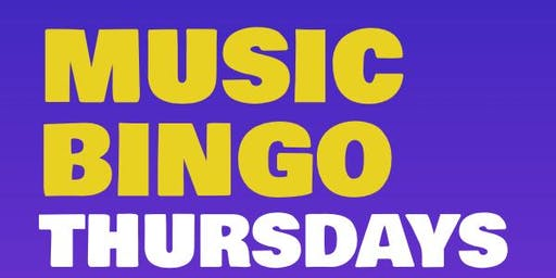 MUSIC BINGO! at TGIFRIDAY'S - NORTHLAKE