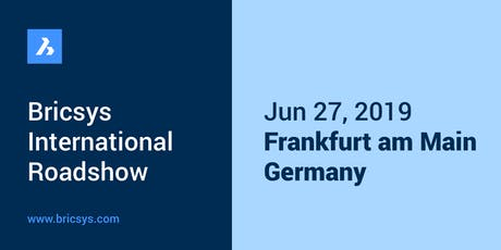BricsCAD International Roadshow - Frankfurt Tickets
