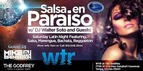 """Salsa en Paraiso"" Latin Night FREE COVER til 11pm Registration  tickets"