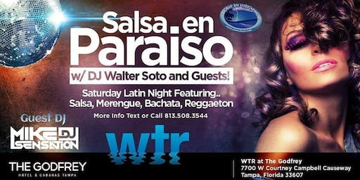 """Salsa en Paraiso"" Latin Night FREE COVER til 11pm Registration"
