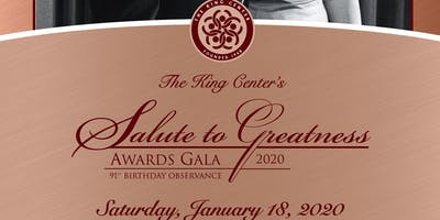 Salute to Greatness Awards 2020