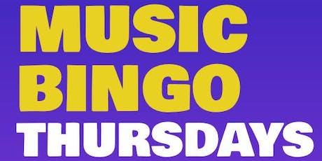 MUSIC BINGO! at TGIFRIDAY'S - CONCORD MILLS tickets
