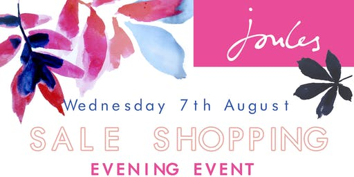 Joules Shopping Event