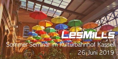 LES MILLS Sommer Seminar in Kassel Tickets