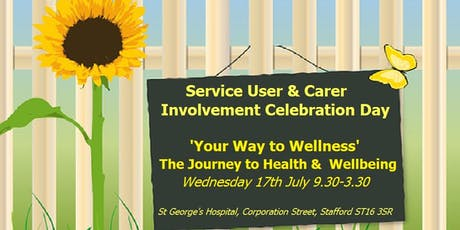 Service User and Carer Involvement Celebration Day tickets