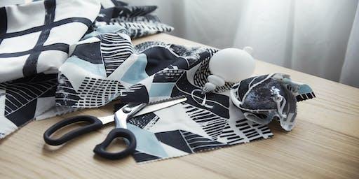 IKEA Woodbridge Back to College fabric wall hanging craft