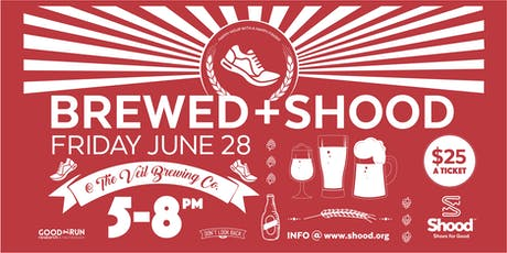 Brewed & Shood tickets