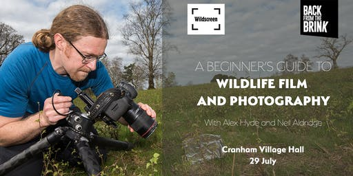Beginner's guide to wildlife film and photography - Volunteer Training 29 July