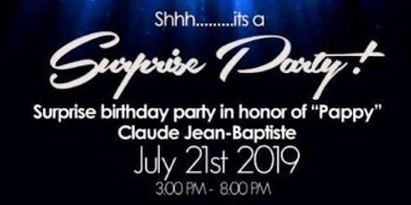 Claude Jean-Baptiste Celebration tickets
