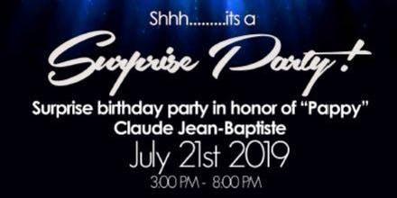 Claude Jean-Baptiste Celebration