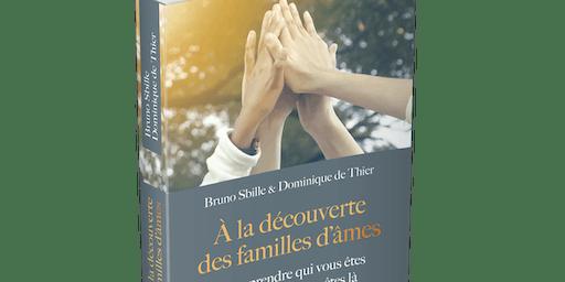 """Conférence de lancement du livre """"Á la découverte des familles d'âmes"""""""