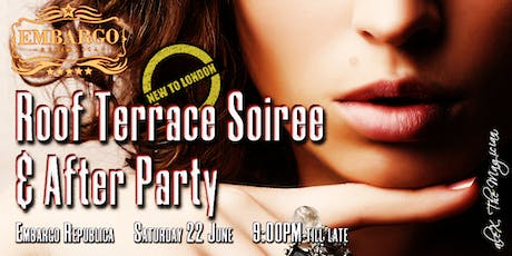 Chelsea ROOFTOP Terrace SOIREE & After-PARTY [Chic Drinks, Intros, Club Night] tickets
