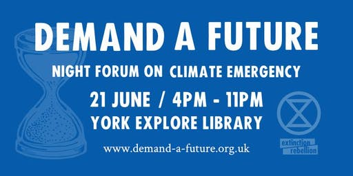Demand A Future: Night Forum On Climate Emergency