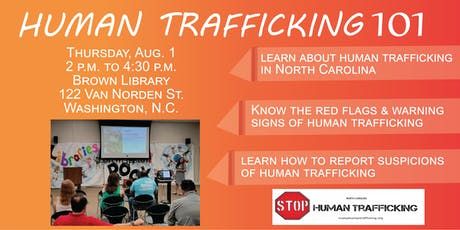 Human Trafficking 101 - Beaufort County tickets