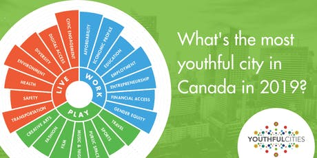 YouthfulCities 2019 Canadian Index Launch Party tickets
