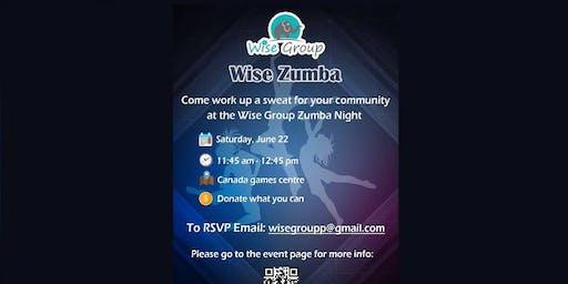 Wise Zumba Fundraiser