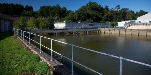 Explore the history of Exeter's water supply: Pynes Water Treatment Works