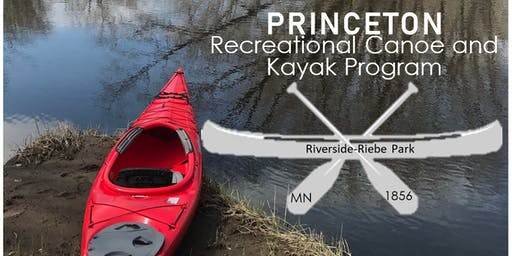 Princeton Recreational Canoe and Kayak Program