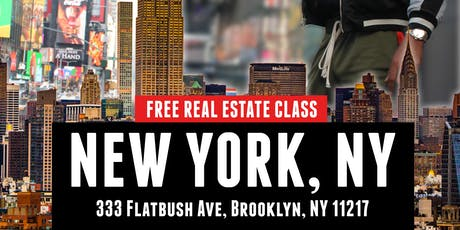 FREE REAL ESTATE CLASS IN NEW YORK with Rico Smith of MadPaperCoaching.com tickets