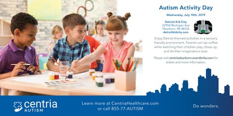 Autism Activity Day - Dearborn, MI - Presented by Centria Autism tickets