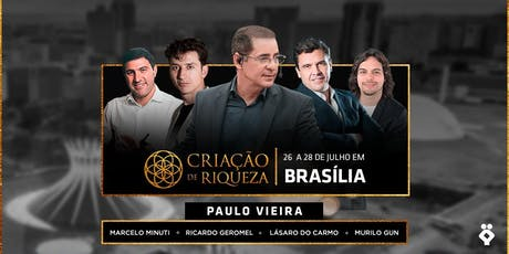[BRASÍLIA/DF] Criação de Riqueza 2019 ingressos