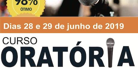 CURSO DE ORATÓRIA ingressos