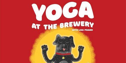 Yoga at Nickel Brook Brewing!
