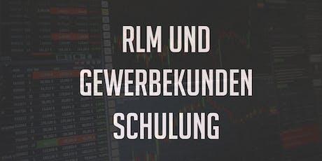 RLM und Gewerbekundenschulung 11.07.2019 Tickets