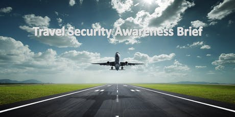 Travel Security Awareness Brief tickets