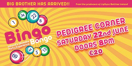Pedigree Corner-Bingo Bongo tickets