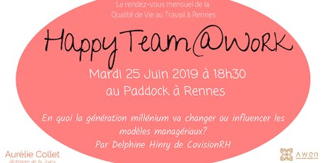 HappyTeam@Work Rennes #6 billets