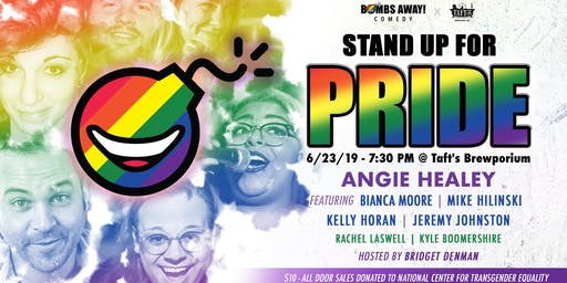 Laughs at Taft's : Stand-Up for Pride