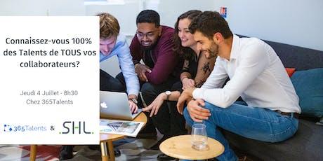 Connaissez-vous 100% des Talents de TOUS vos collaborateurs? billets