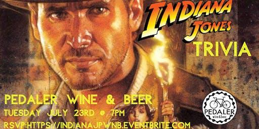 Indiana Jones Trivia at Pedaler Wine & Beer