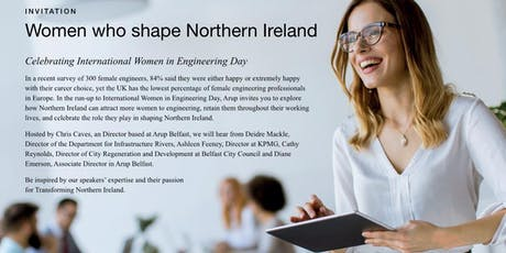 Women who shape Northern Ireland tickets