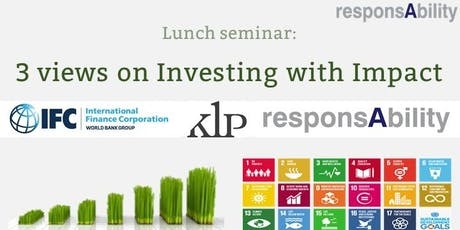 3 views on Impact Investing tickets